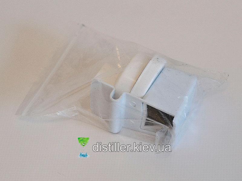 Фильтр и крышки из комплектации дистиллятора BaiStra BSC-WD11