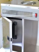 Дистиллятор с открытой дверью