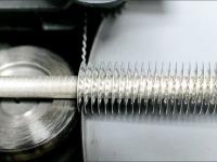 Труба нержавеющая с оребрением алюминиевой лентой