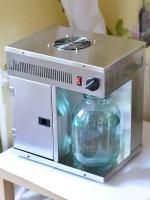 Самодельный дистиллятор с банкой на 3 литра
